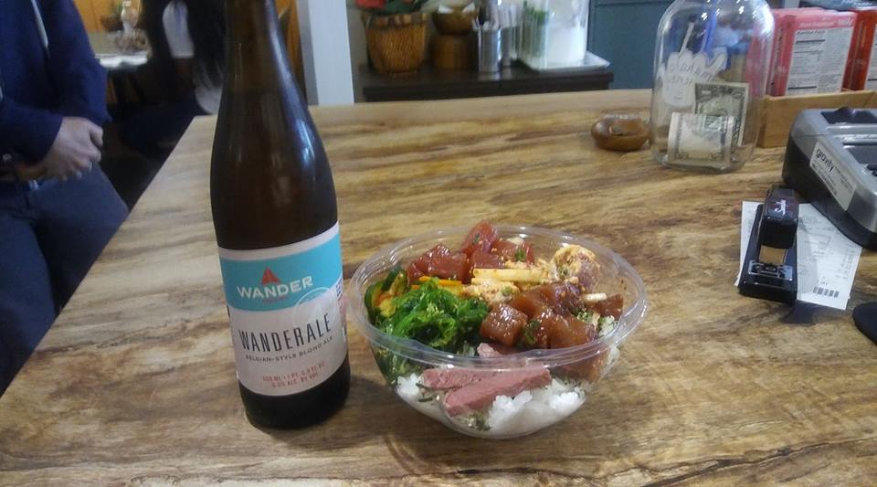 Wander Beer and Poke