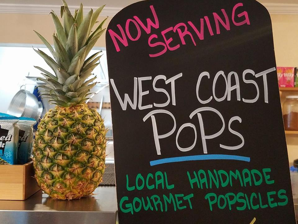 Now serving West Coast Pops!